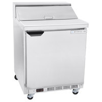 Beverage-Air SPE27HC-B-23 Elite Series 27 inch 1 Door ADA Height Refrigerated Sandwich Prep Table