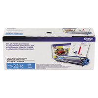 Brother TN221C Cyan Laser Printer Toner Cartridge