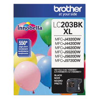 Brother LC203BK Innobella High-Yield Black Printer Ink Cartridge