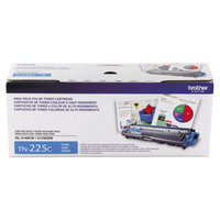 Brother TN225C High-Yield Cyan Printer Toner Cartridge