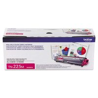 Brother TN225M High-Yield Magenta Printer Toner Cartridge