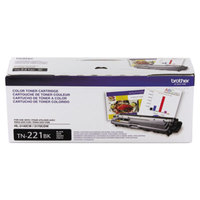 Brother TN221BK Black Laser Printer Toner Cartridge