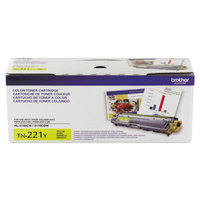 Brother TN221Y Yellow Laser Printer Toner Cartridge