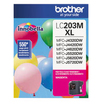 Brother LC203M Innobella High-Yield Magenta Printer Ink Cartridge