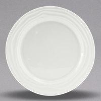 Tuxton GDP-003 TuxTrendz Sandbar 7 1/2 inch Bright White China Plate - 24/Case