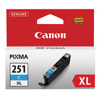 Canon 6449B001 High-Yield Cyan Inkjet Printer Ink Cartridge