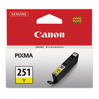 Canon 6516B001 Yellow Inkjet Printer Ink Cartridge