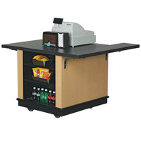 Vollrath 75679W V-Class WCM Mobile Cashier / Merchandising Station