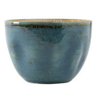 Tuxton GGE-040 TuxTrendz Artisan Geode Azure 12.5 oz. China Bouillon Cup - 24/Case