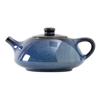 Tuxton GZG-103 TuxTrendz 12 oz. Night Sky China Royal Tea Pot with Lid - 12/Case