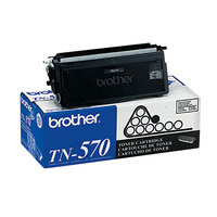 Brother TN570 High-Yield Black Laser Printer Toner Cartridge