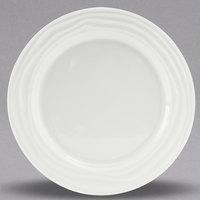 Tuxton GDP-006 TuxTrendz Sandbar 10 1/2 inch Bright White China Plate - 12/Case