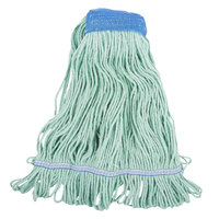 Continental Wilen A02803 J.W. Atomic Loop™ 32 oz. Large Green Blend Loop End Mop Head with 5 inch Band