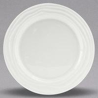 Tuxton GDP-005 TuxTrendz Sandbar 9 inch Bright White China Plate - 24/Case