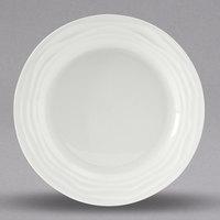 Tuxton GDP-002 TuxTrendz Sandbar 6 1/4 inch Bright White China Plate - 24/Case