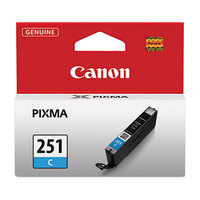 Canon 6514B001 Cyan Inkjet Printer Ink Cartridge