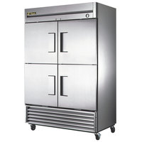 True T-49F-4-HC 55 inch Solid Half Door Reach In Freezer