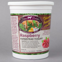 Farmer Rudolph's 32 oz. Raspberry Farmstead Yogurt   - 6/Case