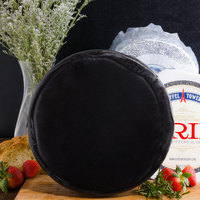 York Valley Cheese Company 12 lb. Mini Wheel of White Sharp Cheddar Cheese in Black Wax