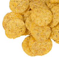 Martin's Potato Chips 1 lb. Yellow Round Corn Tortilla Chips   - 6/Case