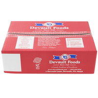 Devault Foods 4 oz. Thick and Tasty Burger   - 40/Case