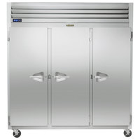 Traulsen G31010 77 inch G Series Solid Door Reach-In Freezer with Left / Right / Right Hinged Doors