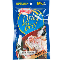 Knauss Foods 4 oz. Dried Beef Chips - 18/Case