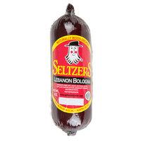 Seltzer's Lebanon Bologna Original 8 oz. Bologna Chub - 15/Case