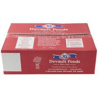 Devault Foods 4 oz. Big D 80/20 Beef Burger   - 40/Case