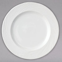 Arcoroc FK764 Candour Cirrus 11 1/2 inch White Porcelain Dinner Plate by Arc Cardinal - 12/Case