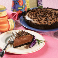 Pellman 9 inch Chocolate Mousse Pie - 6/Case