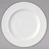 Arcoroc FK765 Candour Cirrus 10 1/2 inch White Porcelain Banquet Plate by Arc Cardinal - 12/Case