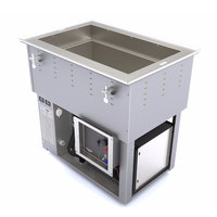 Vollrath 3667102D Top Mount 1 Pan Cold / Hot Food Well - 120/208-240V