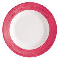 Arcoroc H2687 Opal Brush Cherry 23 oz. Soup Plate by Arc Cardinal - 24/Case