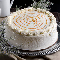 Pellman 9 inch Pumpkin Spice Cake - 4/Case
