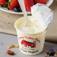 Pequea Valley Farm 6 oz. Plain Yogurt - 6/Case