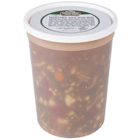 Spring Glen Fresh Foods 5 lb. Vegetable Soup with Beef   - 2/Case