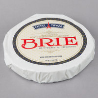 Eiffel Tower Imported Soft Ripened Brie Cheese 2.2 lb. Wheel