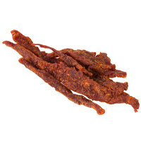 Uncle Mike's Barbeque Flavor Beef Jerky 2 lb. Bag - 4/Case