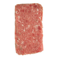 Hometown Pride 8 oz. Chunked and Formed Choice Beef Sandwich Slices - 10 lb.