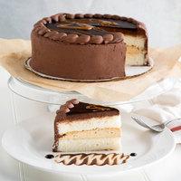Pellman 9 inch Fudgy Peanut Butter Ripple Cake - 4/Case