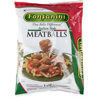 Fontanini Mamma Ranne 1 oz. Italian Style Beef / Pork Cooked Meatballs - 14 lb.