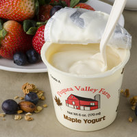 Pequea Valley Farm 6 oz. Maple Yogurt - 6/Case