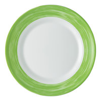 Arcoroc 49142 Opal Brush Green 7 1/2 inch Side Plate by Arc Cardinal - 24/Case