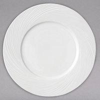 Arcoroc FK763 Candour Cirrus 12 inch White Porcelain Service Plate by Arc Cardinal - 12/Case