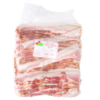 Groff's Meats 5 lb. Dry Cured Hickory Smoked Sliced Bacon