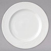 Arcoroc FK766 Candour Cirrus 10 inch White Porcelain Brunch Plate by Arc Cardinal - 24/Case