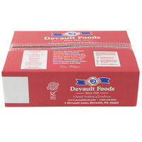 Devault Foods 5 oz. Minute Menu Big D 80/20 Beef Burger   - 32/Case