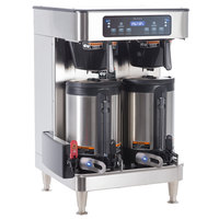 Bunn 51200.0103 ICB Infusion Series WiFi Capable Stainless Steel Twin Coffee Brewer - 120/240V