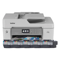 Brother MFC-J6535DW XL Business Smart Pro All-In-One Inkjet Printer with 20 INKvestment Cartridges